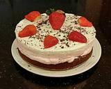 Strawberry Cheesecake Layer Cake recipe step 19 photo
