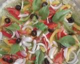 Spinach Hummus Thin Crust Pizza with Hummus Salad recipe step 23 photo