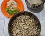 Tauge cah Tahu langkah memasak 1 foto