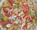 Spinach Hummus Thin Crust Pizza with Hummus Salad recipe step 22 photo