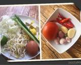 Sundubu Jjigae ~ Sup Tahu Pedas Korea langkah memasak 1 foto