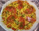 American Pizza with Basil Pesto recipe step 6 photo