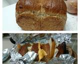 Camembert Cheese and Fruits Diet Brunch Loaf Sandwich / DAY 7 recipe step 2 photo