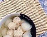 Lobak Kuah Bakso Sosis langkah memasak 6 foto