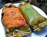 Pepes ikan tongkol pencit (mangga muda) langkah memasak 5 foto