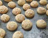 Barazek (Kue Kering Wijen) langkah memasak 5 foto