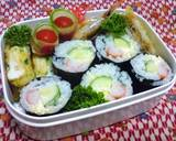 """Lazy """"Sushi"""" Rolls for Lunchboxes recipe step 4 photo"""