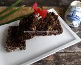 No Bake Chocolate Granola Bars langkah memasak 5 foto