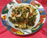 126.Tumis Tahu Sawi Asin langkah memasak 3 foto
