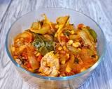 Cumi Goreng Saus Padang langkah memasak 11 foto