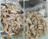 Toge ikan asin langkah memasak 1 foto