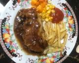 Chicken chop langkah memasak 12 foto