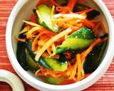 Bibimbap Noodles With Vegetable Namul and All-Purpose Korean Sauce recipe step 10 photo
