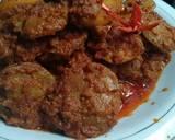 Rendang Jengkol Presto langkah memasak 8 foto