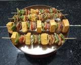 Paneer Shashlik recipe step 3 photo