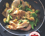 Tumis udang brokoli cah saus tomat#homemadebylita langkah memasak 4 foto