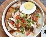Bubur Ayam Bandung langkah memasak 4 foto