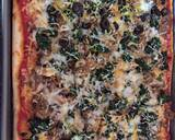 Italian Sausage & Spinach Rectangle Pizza recipe step 6 photo