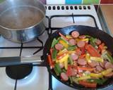 Vickys Creamy Chorizo Fusilli, GF DF EF SF NF recipe step 2 photo