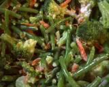 Maybe salad......? Green Bean Broccoli salad recipe step 1 photo