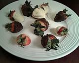 White and Dark Chocolate Covered Strawberries recipe step 8 photo