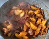 Rica Rica Daging sapi kentang pedes langkah memasak 4 foto