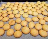 Egg drop cookies langkah memasak 4 foto