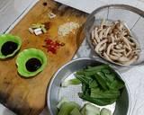 49. Bokchoy Jamur Shimeji langkah memasak 1 foto