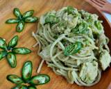 Spaghetti Ayam Cabe Ijo langkah memasak 6 foto