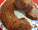Bolu karamel (bolu sarang semut) langkah memasak 6 foto