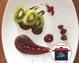 Yogurt dark choco kiwi chia delima (pomegranate)#homemadebylita langkah memasak 4 foto