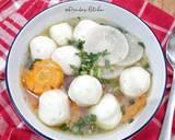Sup Lobak Bakso Ikan langkah memasak 6 foto