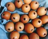 Trứng gà nướng bước làm 3 hình