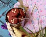 Red Velvet Cookies #day13 langkah memasak 6 foto