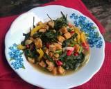 Cah Kangkung Tempe langkah memasak 5 foto