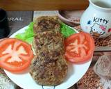 Low carb Pancake Burger #ketopad langkah memasak 5 foto