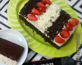 Cake coklat kukus topping suka suka langkah memasak 9 foto