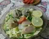 Mie tek - tek kuah sawi hijau ala aku #pr_ anekamiekuah langkah memasak 4 foto