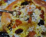 Rice with dried fruits (Shirin polow) recipe step 17 photo