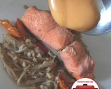 Salmon enoki kecap mayones enak#homemadebylita langkah memasak 5 foto