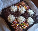 Eggless Chocolate Cake (No Mixer) langkah memasak 8 foto