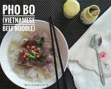 Pho Bo (Vietnamese Beef Noodle Soup) langkah memasak 6 foto
