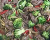 Beef brokoli saus tiram langkah memasak 5 foto
