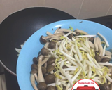 Vegetarian tumis toge jamur bombay sederhana #homemadebylita langkah memasak 3 foto