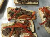 Foto del paso 3 de la receta Philly Steak Sándwich