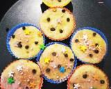 बनाना कप केक (Banana cup cake recipe in Hindi) रेसिपी चरण 5 फोटो
