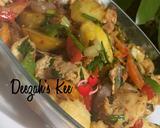 Potatoes/Chicken Veggies Stir fry recipe step 1 photo
