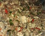 Wedel bandeng (isi perut bandeng) langkah memasak 4 foto