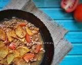 Semur daging sapi giling langkah memasak 4 foto