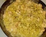 Shrimp Alfredo recipe step 3 photo
